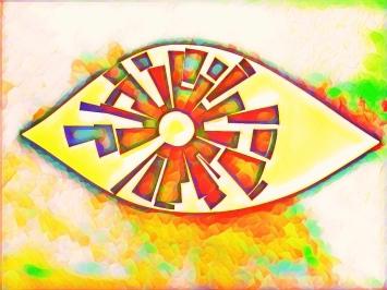 "Eye on Ens'erune, France 11"" x 8"" 2018"